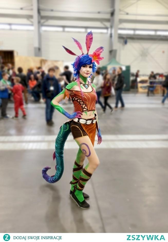 Zdjęcie z tegorocznego pyrkonu! cosplay Neeko z gry League of legends zapraszam na ig: foxypastel i na fb: sarenka