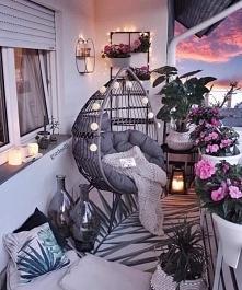 Śliczny balkon