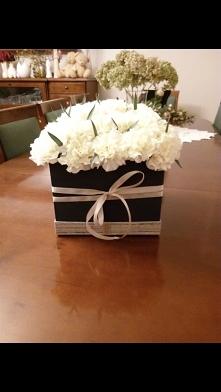 Flowerbox z goździków