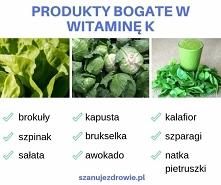 Produkty bogate w witaminę K