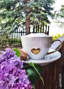 Kawa w ulubionej filiżance ...