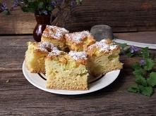 błyskawiczne ciasto z rabar...