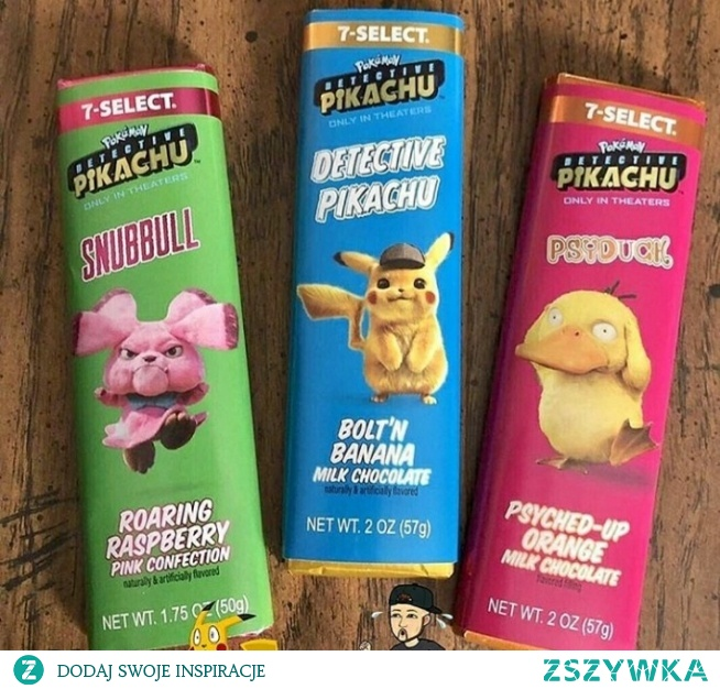 czekolady inspirowane postaciami pokemonów! o smakach malinowym, bananowym i pomarańczowym