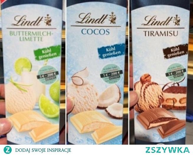 nowości czekolad lindt! który smak najbardziej wam się podoba?