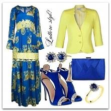 Niech moc kolorów będzie z Wami!  #LATTORE #kolorowy #look #styl #sukienkanaw...