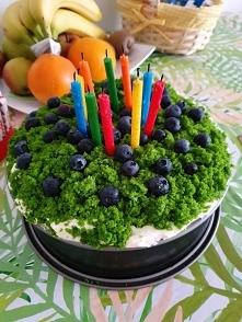 """""""LEŚNY MECH"""" w wersji tortu urodzinowego"""