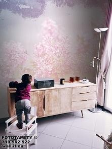 Pastelowa tapeta z motywem kwiatowym, wzór nr GD04 © Zapach wiosny. Delikatne...