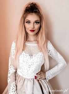 Piękna sukienka na wesele z...