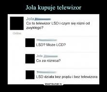 LSD v. LCD