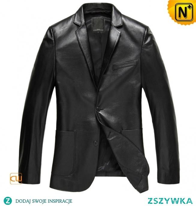 Custom Father's Day Gift | Men Leather Blazer Jackets CW840801 | CWMALLS.COM