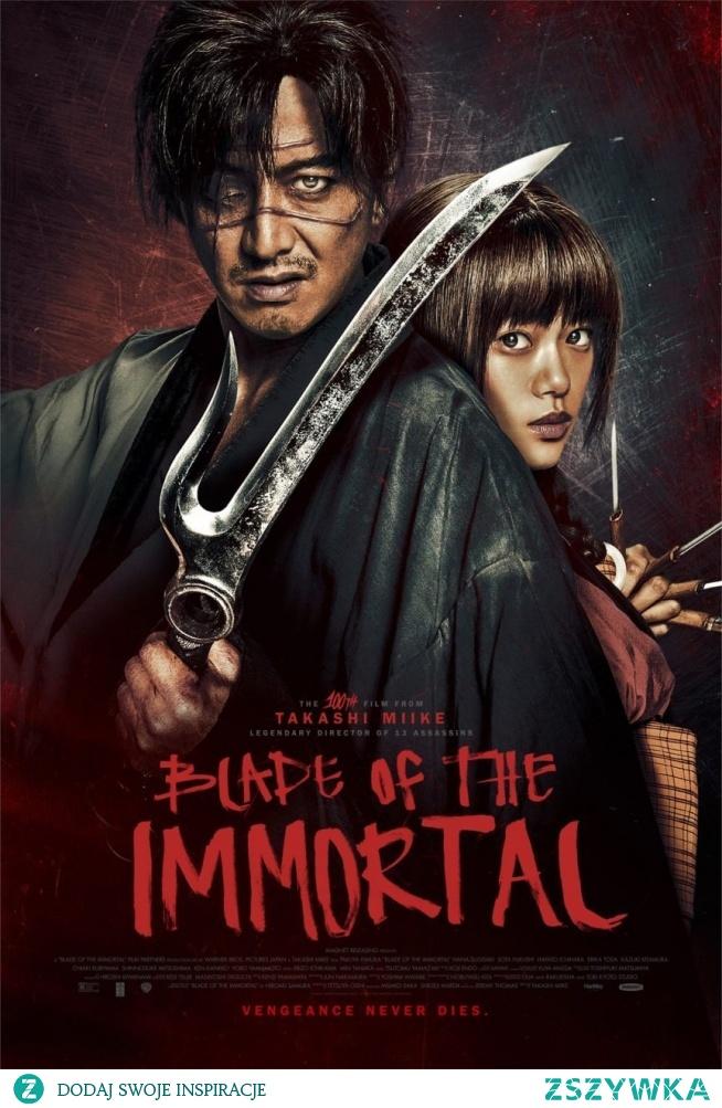 Miecz Nieśmiertelnego (2017)      Manji, świetnie wyszkolony samuraj, staje się nieśmiertelny po legendarnej bitwie.