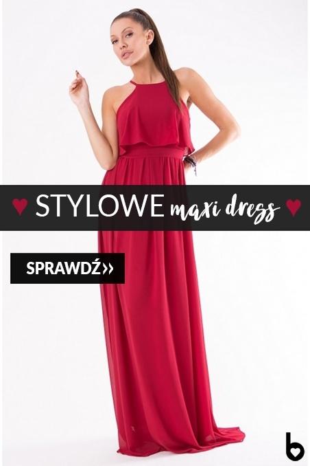 Stylowe maxi dress