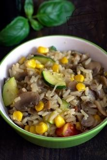 Jednogarnkowe danie z ryżem...