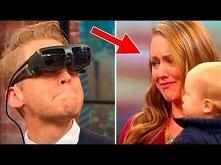 Niewidomy mężczyzna po raz ...