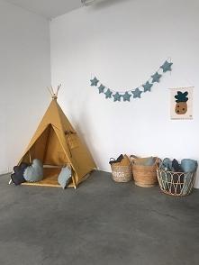 Namiot tipi musztardowy  z LNU