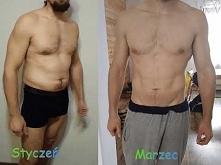 Moja metamorfoza z dietą z fabryki siły. 4 miesiące reduckji 8kg w dół i rzeź...