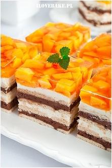 Ciasto z mango bez pieczenia