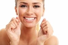 Nitkowanie zębów - dlaczego...