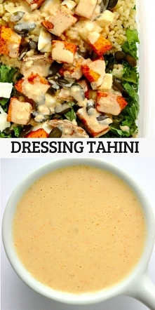 Dressing tahini do sałatek,...