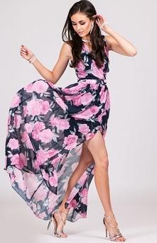 Kwiatowa sukienka Roco Fashion