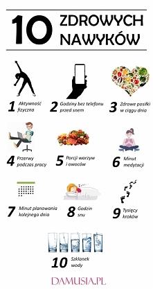 10 Zdrowych Nawyków