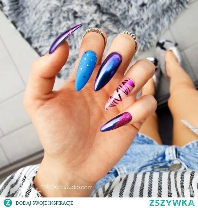 Paznokcie press on do samodzielnej aplikacji, paznokcie żelowe, hybrydowe, akrylowe, instant manicure, jakość paznokci z salonu, zawsze idealne - więcej na nailroomstudio.com by nail designer Iga Otczyk