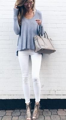 Jak Wam się podoba? Ja uwielbiam białe spodnie! :*** Kilk w zdjęcie, żeby zobaczyć w sklepie.