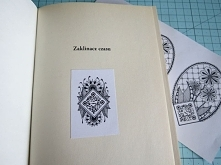Exlibris w style Zentangle