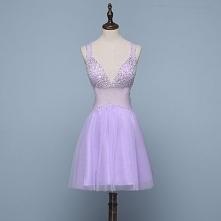 Seksowne Lawenda Sukienki K...