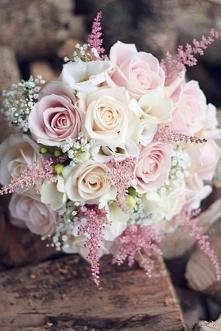 Piękny bukiet na ślub <3