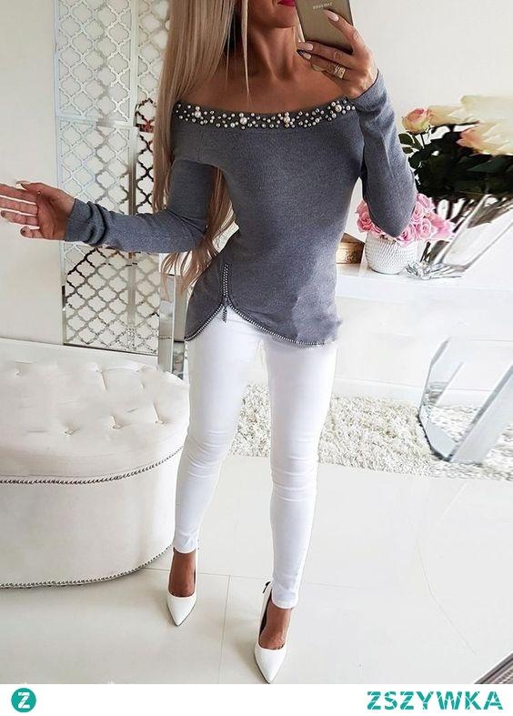 Też lubicie białe spodnie? <33 Model ze zdjęcia znajdziecie klikając w obrazek