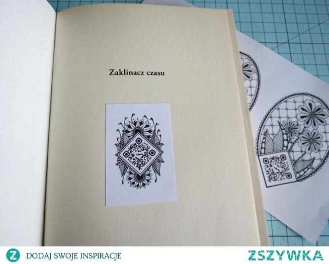 Exlibris w style Zentangle