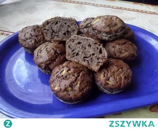 Lekko cynamonowe muffinki z dynią
