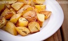 Młode ziemniaki pieczone z ...