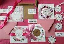 Zaproszenia oraz dodatki weselne wiecej na instagrm/poligrafiapr lub fb/panir...