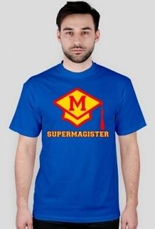 Prezent dla magistra koszulka Supermagister