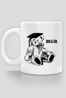 Prezent dla magistra - kubek MGR obrona pracy magisterskiej