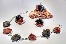 Biżuteria z lawy