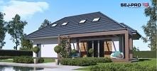 SEJ-PRO 005 G to ciekawy projekt z rodziny domów klasycznych, będący przekszt...