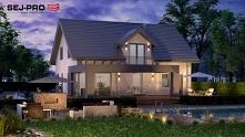 SEJ-PRO 007 ENERGO to nowoczesny, energooszczędny przytulny i wygodny dom jednorodzinny. Pięknie się prezentuje z zewnątrz i jest bardzo komfortowy.
