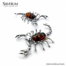 skorpion wisiorek srebrny z...