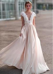 Przepiekna suknia slubna!