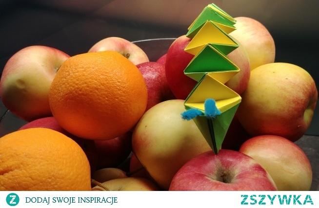 Papierowy skaczący wąż - origami