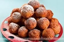 Paczki z ziemniaków z marmo...