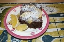 Czekoladowe ciasto z pomara...