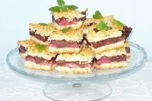 Ciasto czekoladowo- truskawkowe