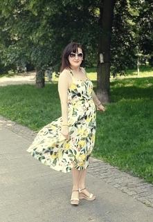 Sukienka w cytryny to HIT t...