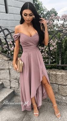 Asymetryczna sukienka dla d...