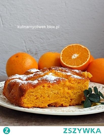 Ciasto z dyni i pomarańczy