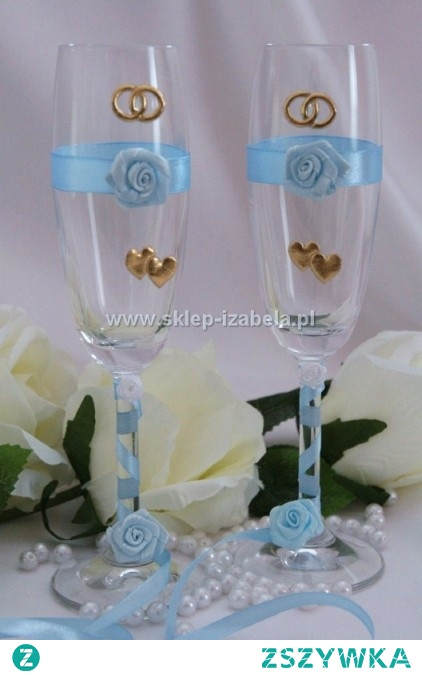 Kieliszki do szampana na wesele